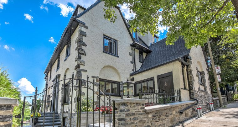 Skyline Manor, a Prestigious Residence Surgically Reconstructed on Chemin Côte-Des-Neiges