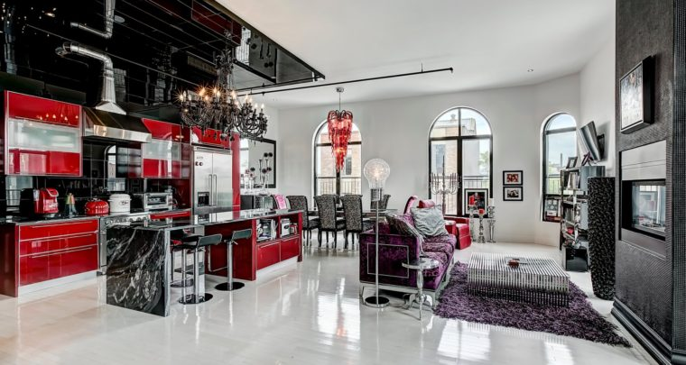 Condo of the Week: Majestic Modern Loft in the Exclusive Oxxford by Couturier Philippe Dubuc