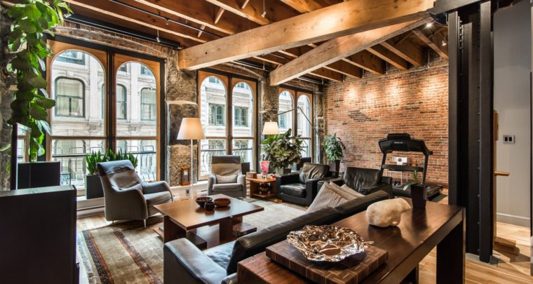 Historical and Warm Loft at La Caserne in Old Montreal