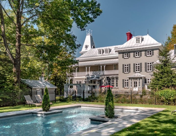 Luxury Maplewood Manor in Eastern Townships Breathes Calm and Serenity Just 60 Minutes Outside of Montreal