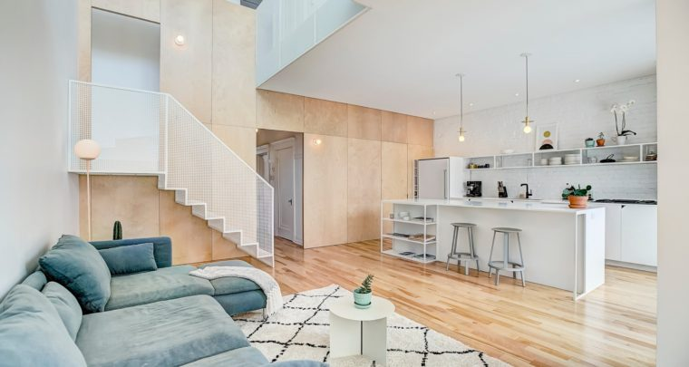 House of the Week: Cottage Transformed by La Shed Architecture and Le Pierre Renovation on Le Plateau