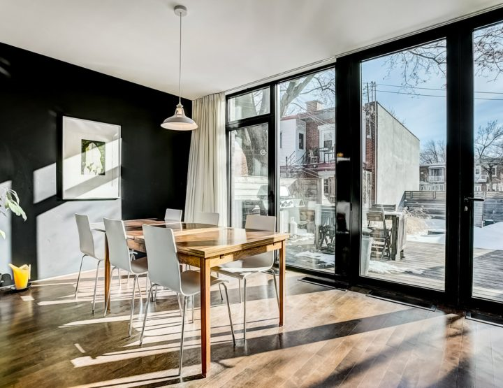 Sun Drenched Open Concept House with Extensive Double Lot Backyard in Rosemont