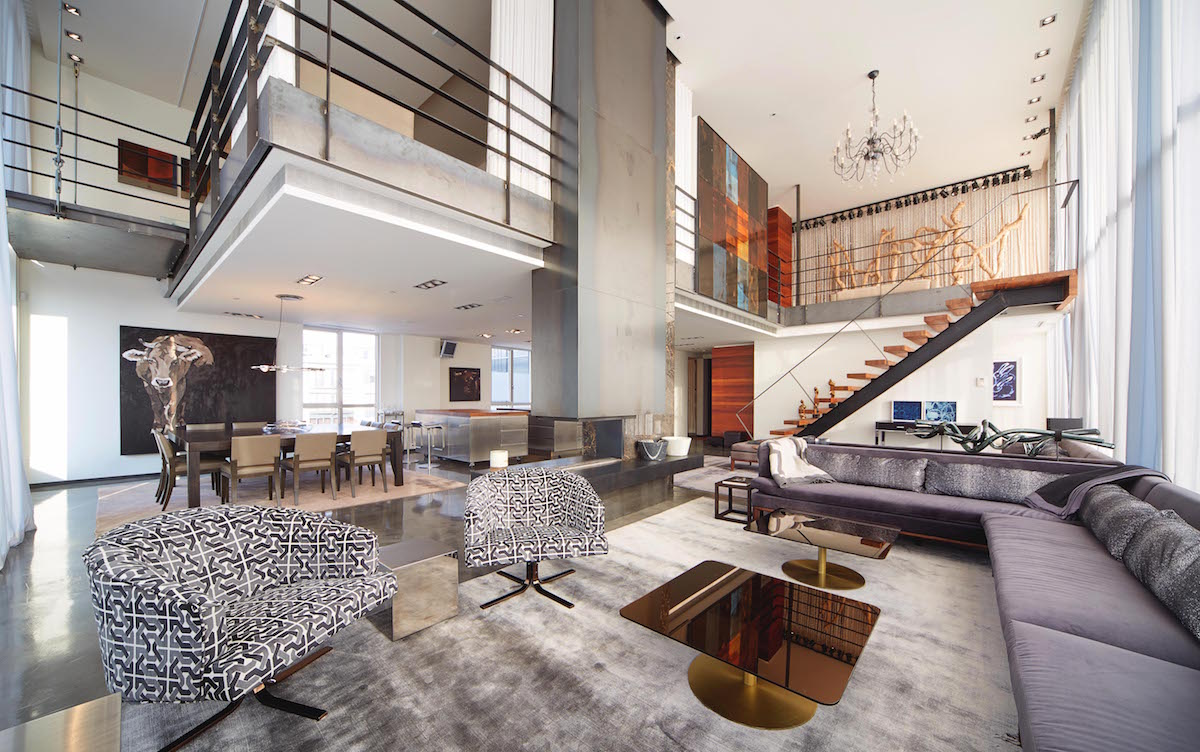 This luxury penthouse in montreal rents for 16 500 for Location appartement montreal
