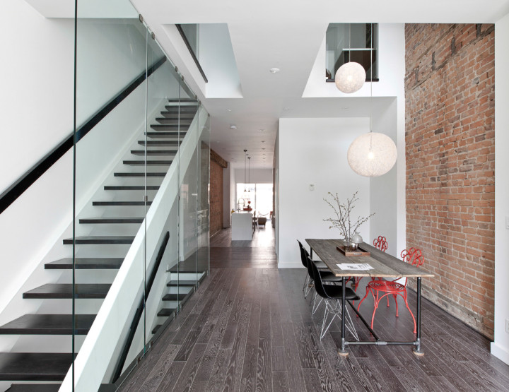 Lady Peel's House in Toronto : A Modern Renovation Transforms Interior - via Design Milk