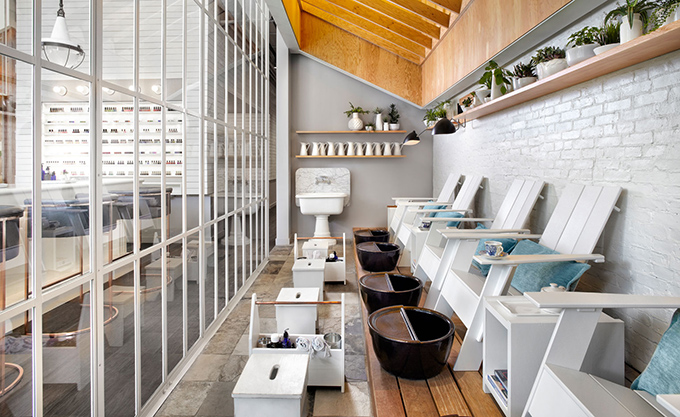 Her Majesty's Pleasure Gorgeously Designed Beauty Salon in Toronto - via The Cool Hunter