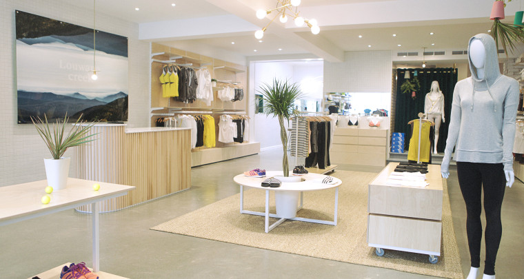 Louwana Creek: Outremont's New fashion-foward active women have a new place to call home