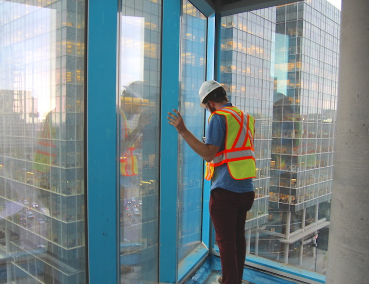 Put on a Helmet! We're Climbing Up the Construction Site of ICONE Condominium's Tower