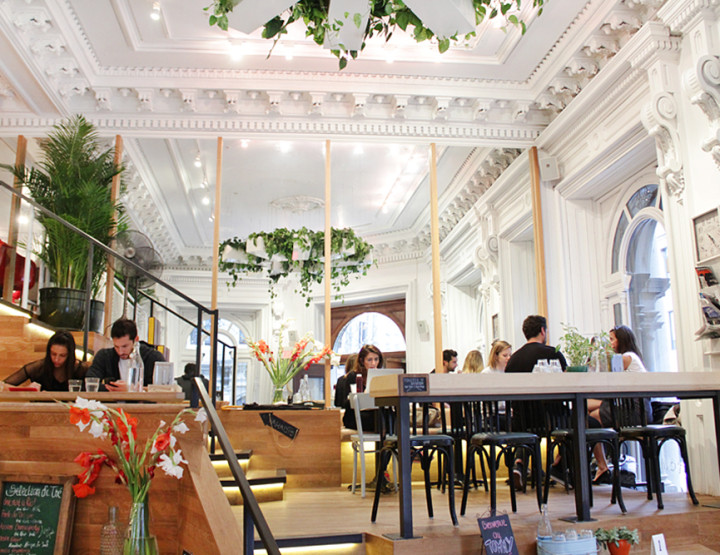 Café Tommy: Old Montreal's Stunning New Neighbourhood Hangout via The Main MTL