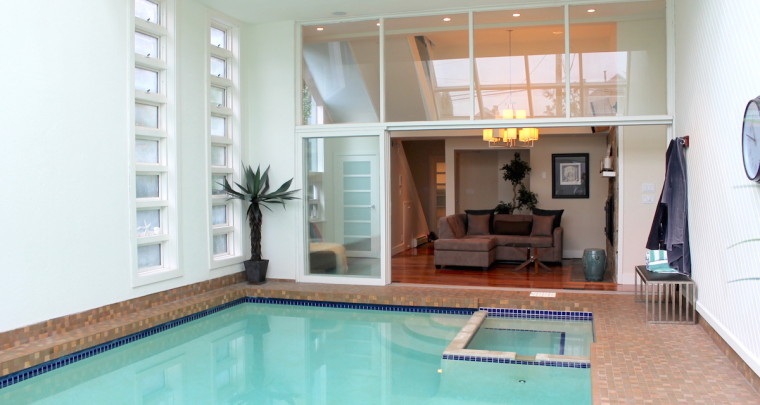 Surreal 5 Levels Split House in Kits Point Reveals a Beautiful Indoor Pool