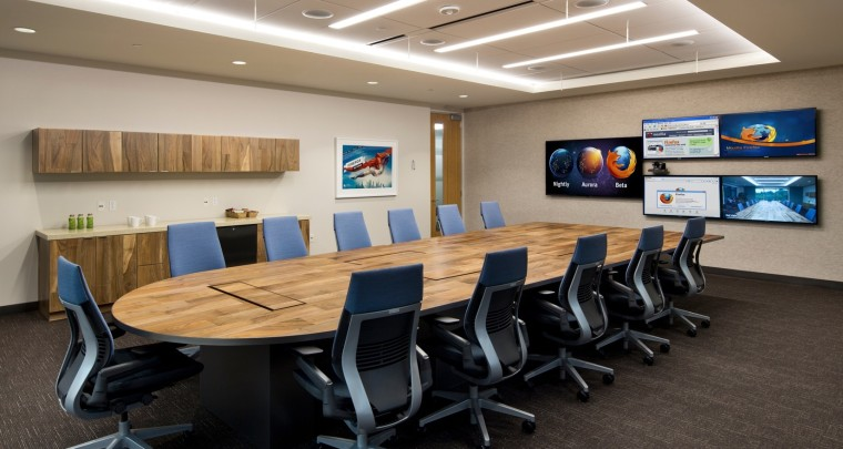 Mozilla's New Mountain View Headquarters - Via Officelovin