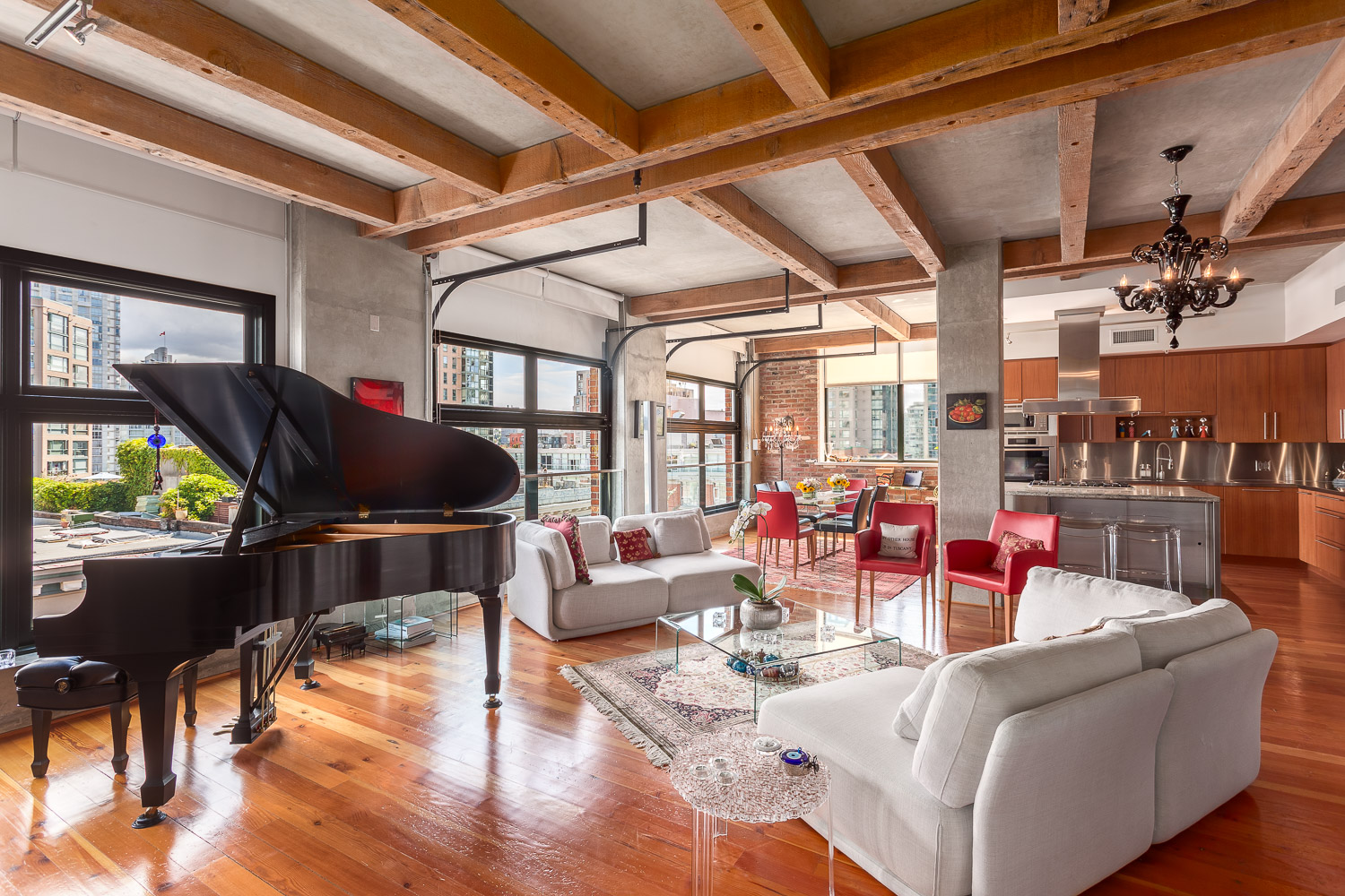 this homer street penthouse is one of the biggest converted