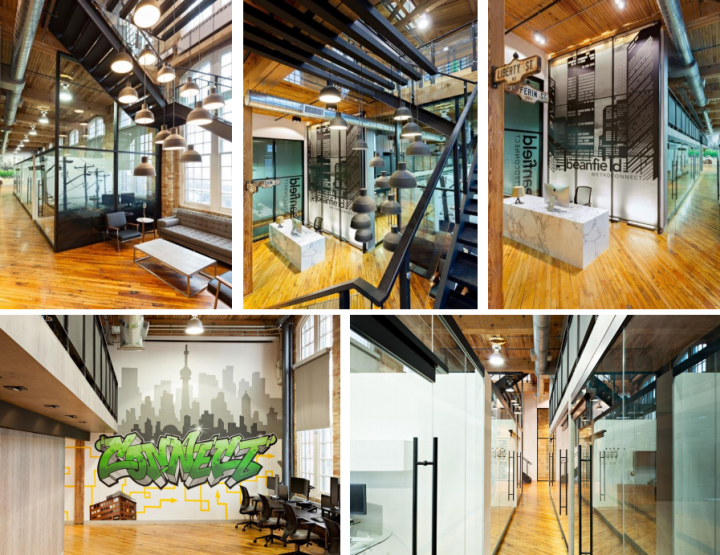 11 Fresh Office Spaces in Toronto - Via Notable.ca