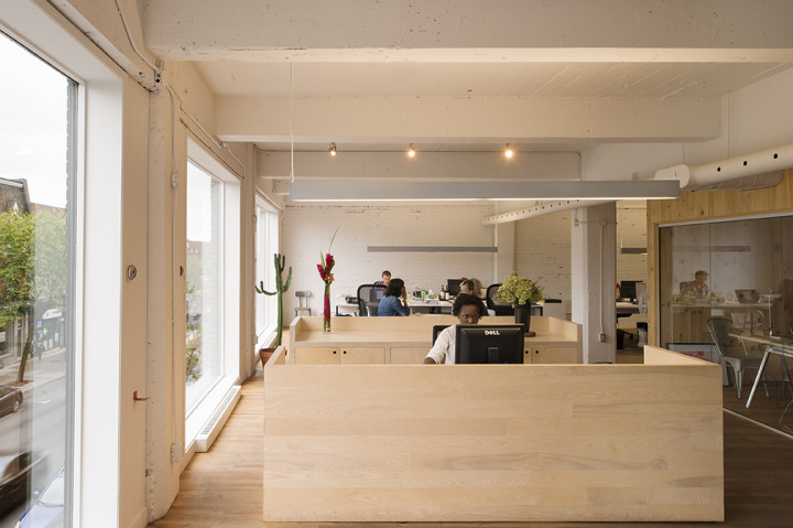 Inside Infopresse Offices by Atelier Pierre Thibault in Montreal