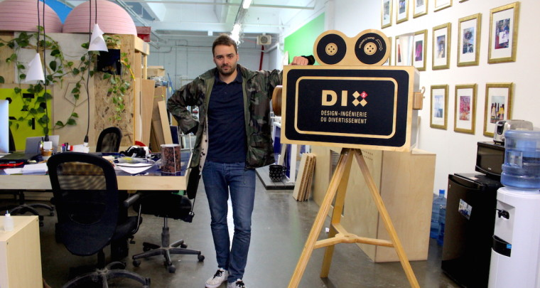 Inside the Workshop of Dix au Carré : a Design-Engineering Company for Entertainment