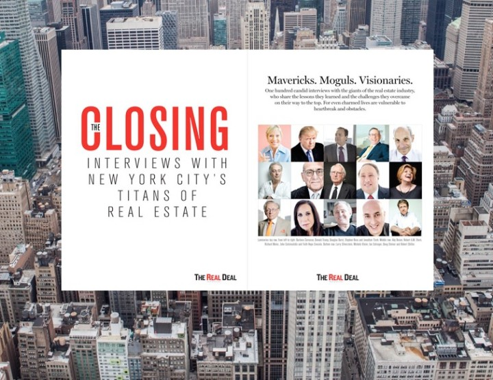 Stand on the Shoulders of New York City's Titans of Real Estate with New Book by The Real Deal
