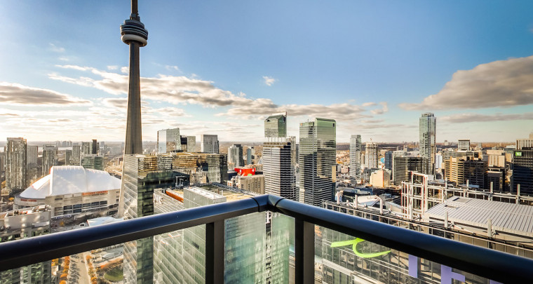Fresh Listing : Custom Built Suite on the 46th Floor of the Maple Leaf Square Tower