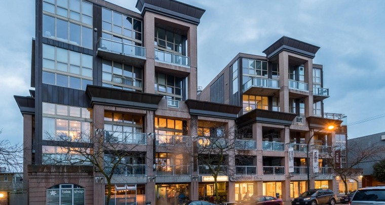 Fresh Listing in Vancouver: Concrete and Steel Architectural Loft in South Granville
