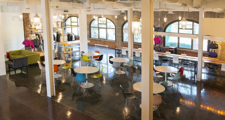 A Tour of The Brand New Offices of Women Activewear Brand Lolë Inside The Old Viger Station