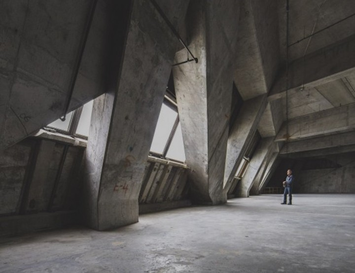Kollectif Releases Epic Photos From Inside Montreal's Empty Olympic Tower