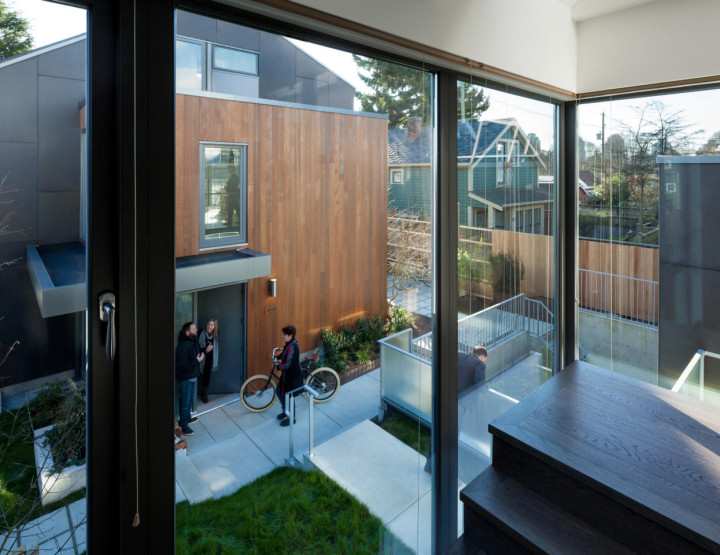 Sharper Architecture Transformed Two Side-by-side Lots into 7 Residences