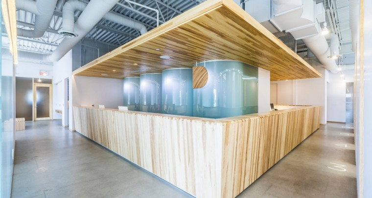 Laurent McComber Redesigns The Dermatology Clinique D Diaphane in Laval