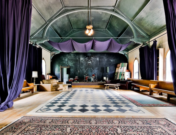 Former Arcade Fire Studio-Church Goes Back to Market