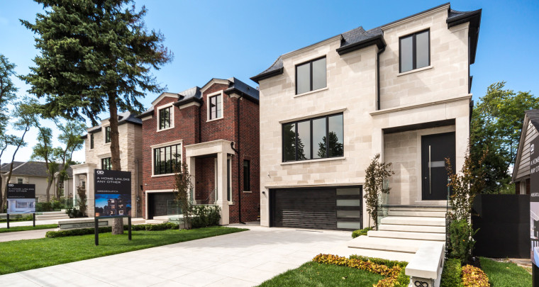 York Mills Road is Home to A Unique Three Houses Collection by AB8 Group