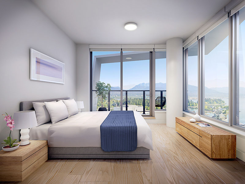Cardero_Residences_Bedroom