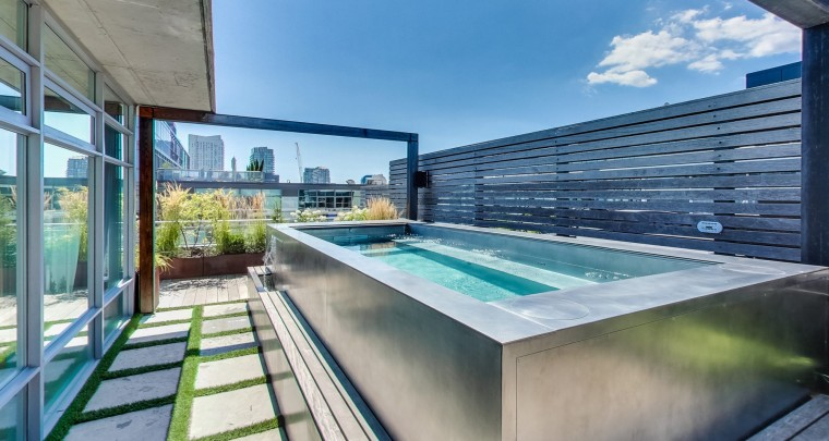Toronto Life : $4 Million Penthouse on King West has Awesome Private Pool