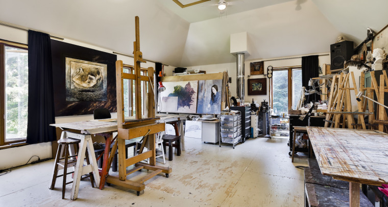 A Painter's Paradise Hidden in the Eastern Townships