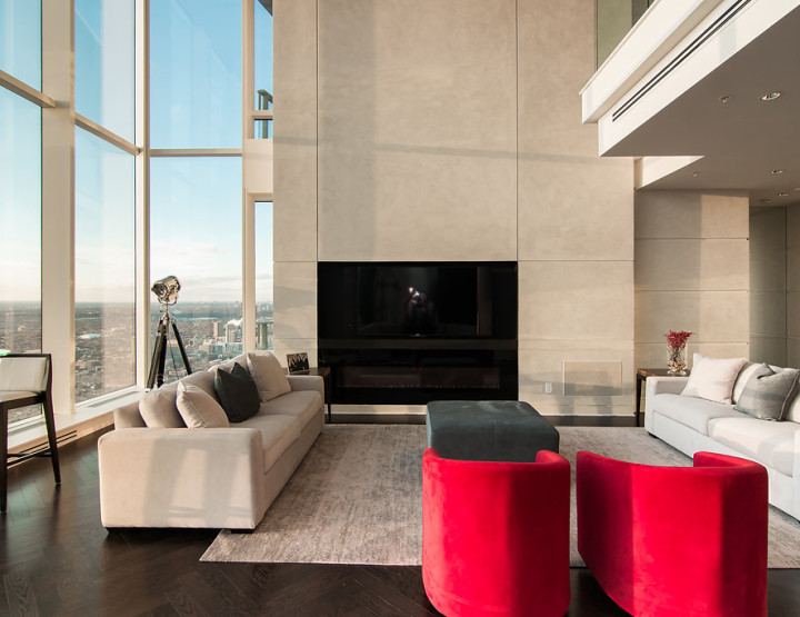 Suite 6002 of the Shangri-La in Toronto is so Slick, it Actually Looks Like Renderings!