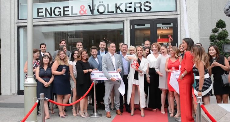 A Tour of Newly Inaugurated Engel & Völkers Flagship in the Golden Square Mile - via REM   Real Estate Magazine