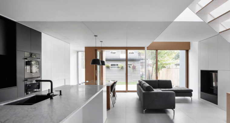 De la Roche Residence in Montreal by NatureHumaine | via ArchDaily