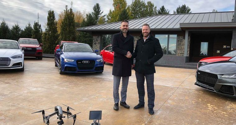 Going the Extra Mile to Promote this Baller Sherbrooke Mansion with Techy Garage
