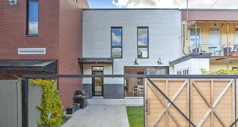 Flawless Cottage in Villeray Perfectly Encapsulates The Family Take-Over of The Neighborhood